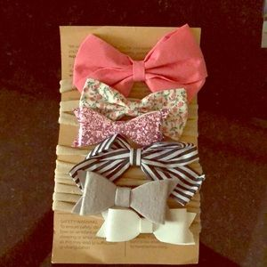 Infant headbands with Bows